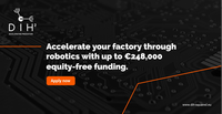 DIH2 – 2nd Open Call - Get up to €248,000 in EU funding for robotics manufacturing solutions
