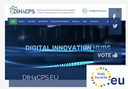 DIH4CPS website finalist of eu.WebAwards