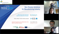 PRODUTECH organises Workshop at the European Robotic Forum 2021
