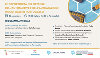"PRODUTECH presents Production Technologies Cluster and initiatives at ""Automazione Industriale e Industria 4.0"" seminar"