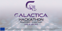 Registration open for the first GALACTICA Hackathon with 50k€ in prizes