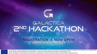 Registrations are open for the 2nd hackathon of the GALACTICA project with €50k in prizes. This event is aimed at start-ups and SMEs as well as university students.