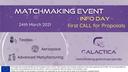 Apresentação da Open Call do projeto GALACTICA com 1,2M€ de apoio direto às PMEs - 24 de Março de 2021 – Inscrições abertas!
