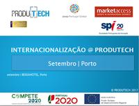 INTERNACIONALIZAÇÃO@PRODUTECH - Novas sessões em foco durante o mês de setembro