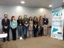 Reunião de lançamento do projeto europeu CLAMTEX em Terrassa
