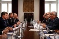 Tecnologias de Produção reúnem com o Primeiro Ministro
