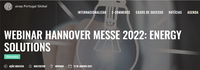 Webinar Hannover Messe: Energy Solutions